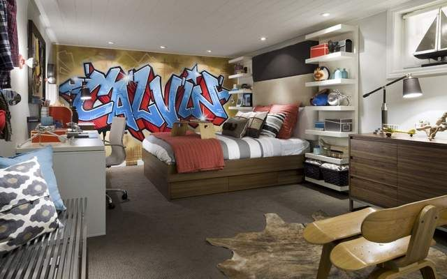 Tween boys bedroom