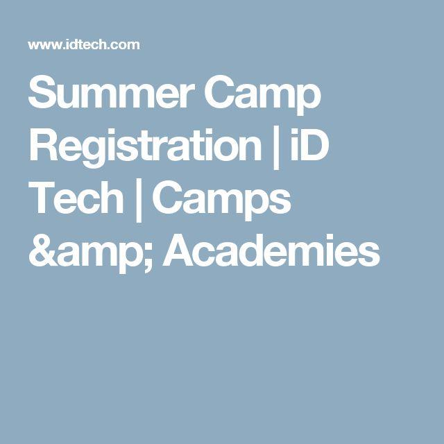 Summer Camp Registration | iD Tech | Camps & Academies