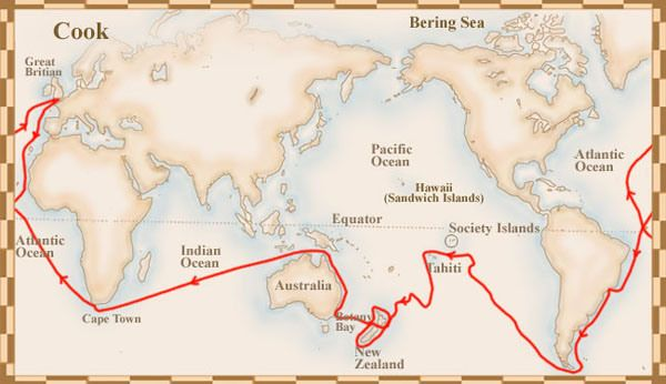 the voyage of captain james cook 2016-02-18 동영상 보기 british navigator james cook discovered and charted new zealand and australia  yorkshire, england, james cook was a naval captain, navigator and explorer  on this voyage.