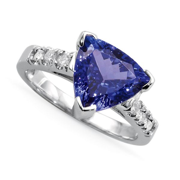 Cut Tanzanite Ring