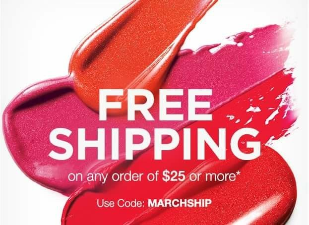 Happy Online Beauty Bosses!  Today we have Free Shipping over at our eStores!  http://www.youravon.com/cbrenda007  Free Shipping on Any $25 Avon Order  Use Code:   MARCHSHIP