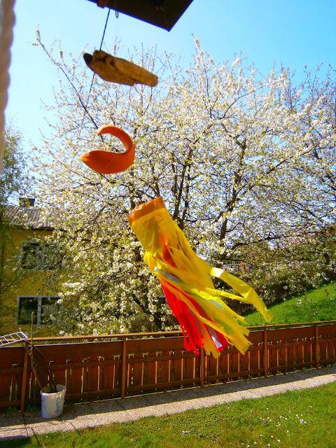 Zauberhafte Basteleien: Windsack Tutorial ....... Bag in the wind