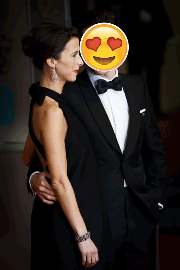 Benedict Cumberbatch Staring At His Fiancée Is The Real Life Version Of The Heart Eyed Emoji