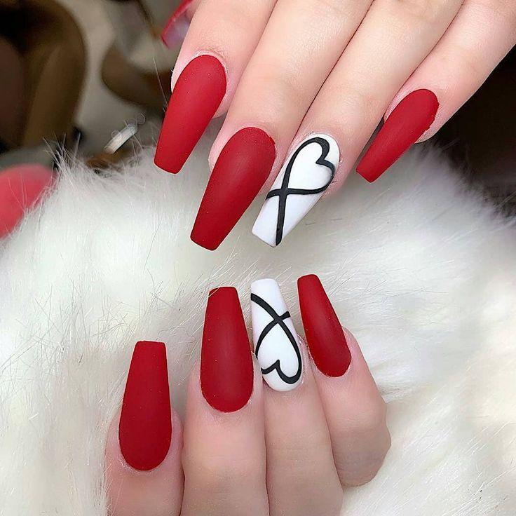 """Nail Art l Glamour l Mode auf Instagram: """"Valentine nails. Nägel von An Sharo…"""