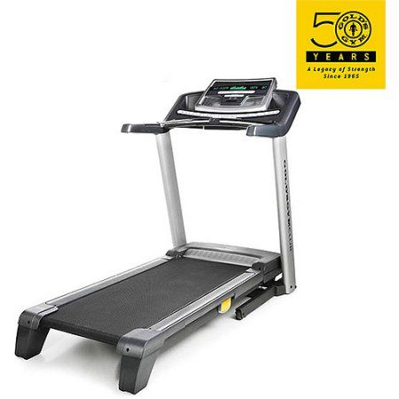 Gold's Gym Club Interactive 890 Treadmill, Black
