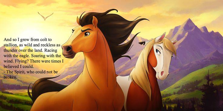 Spirit, the Stallion of the Cimarron