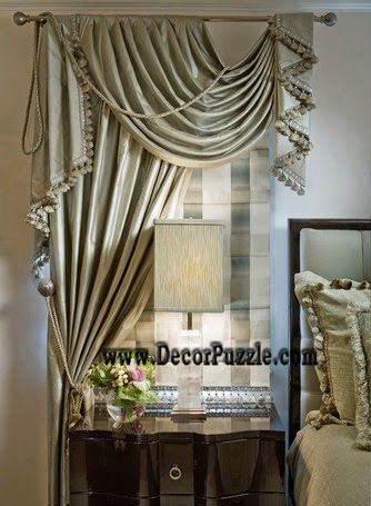 stylish curtain design for small window, curtain styles 2015