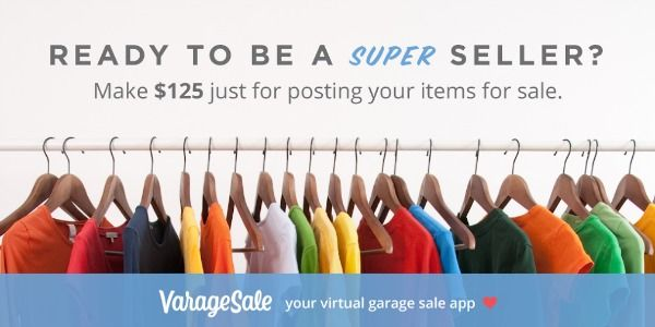 NC Residents: VarageSale is Here! Virtual Garage Sale App #Sp