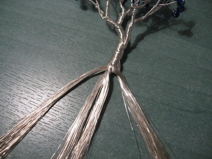 Beaded Wire Tree Tutorial