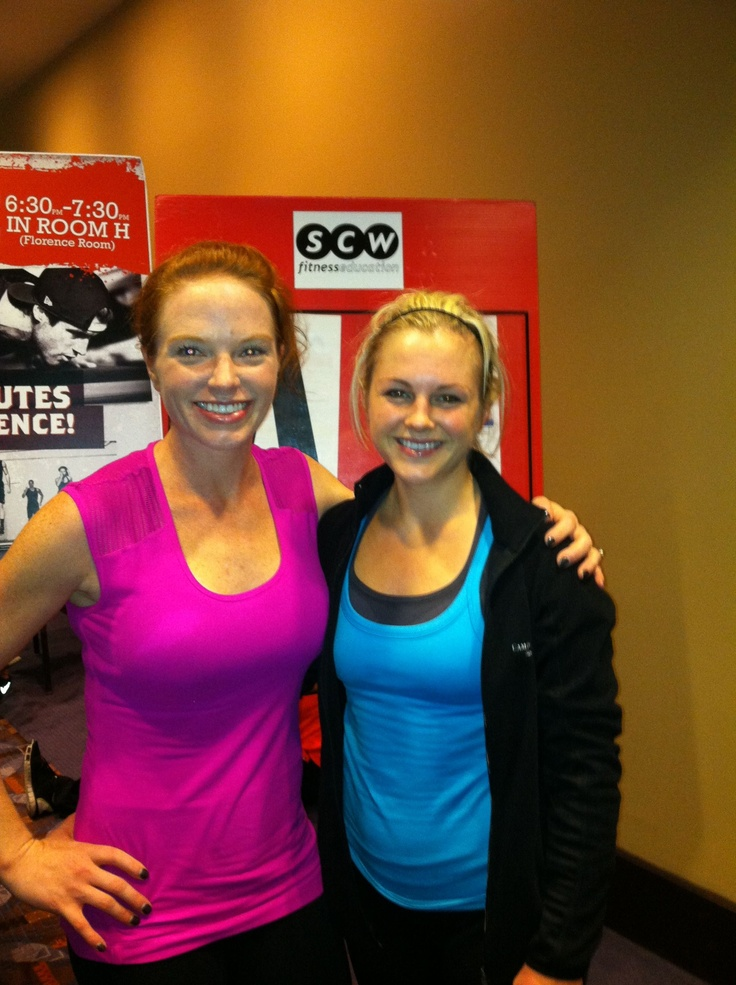 At Midwest Mania with Fitness Guru, Amy Dixon