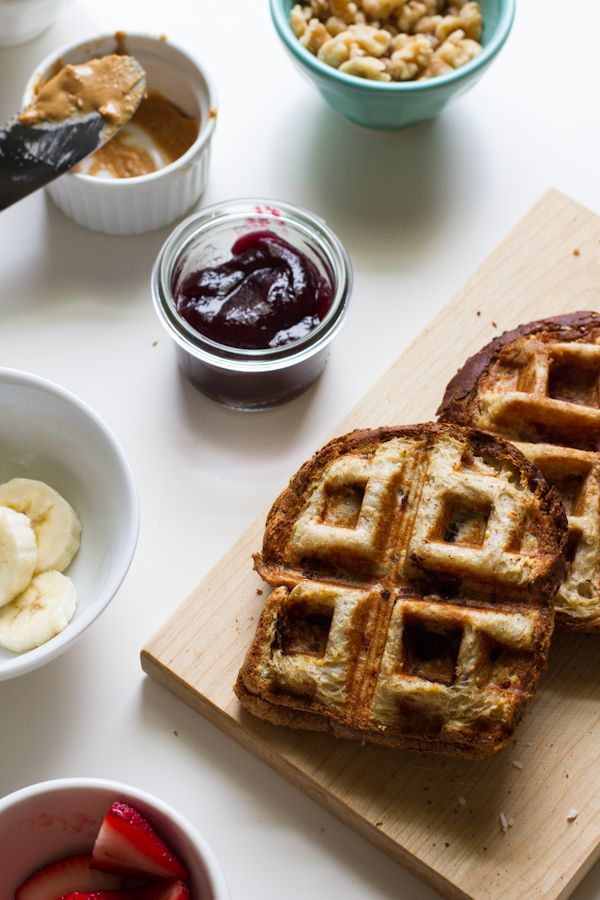 Breakfast + Lunch= The Ultimate Waffle-Grilled Sandwich |  #WhattheHack?Waffles Maker, Edible Perspective, Waffle Grilled Sandwiches, Waffle Grils Sandwiches, Eating, Breakfast Sandwiches, Ultimate Waffle Grils, Waffles Iron, Delicious Food