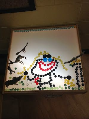 Passionately Curious: Learning in a Reggio Inspired Kindergarten Environment: Learning with Light: Exploring with Loose Parts
