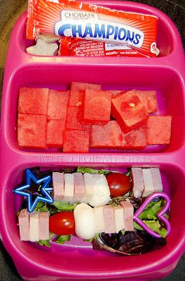Healthy packed lunch ideas for me too:)