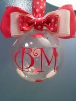 Phi Mu craft ornament, cute!