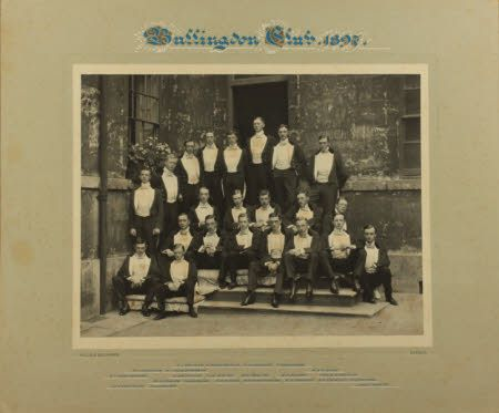 Bullingdon Club, 1897