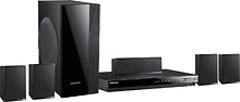 Samsung - Refurbished 1000W 5.1-Ch. 3D / Smart Blu-ray Home Theater System  $209