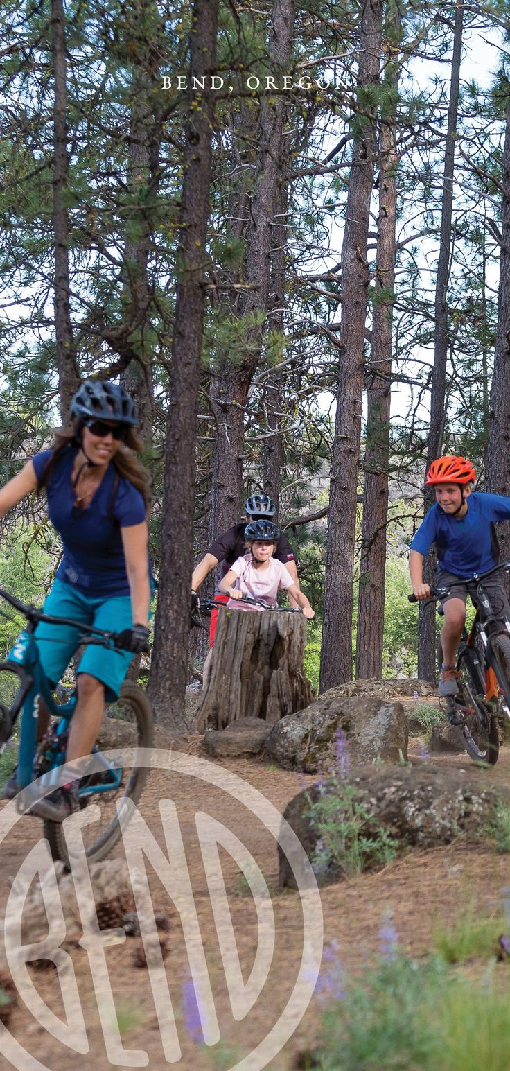 Mountain Biking In Bend And Central Oregon Trails And Maps In