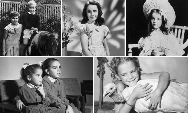Самые забавные фотографии знаменитостей в детстве
