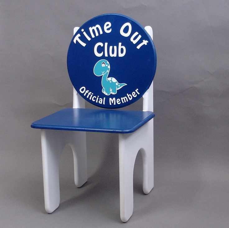 Dinosaur Time Out Chair Time Out Club By Greatcustomfurniture Craft Fair Pinterest Time