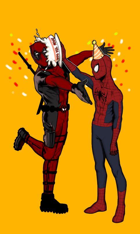 #Deadpool #Fan #Art. (Deadpool And Parker) By: Ljlj17. (THE * 5 * STÅR * ÅWARD * OF * MAJOR ÅWESOMENESS!!!™) [THANK U 4 PINNING!!!<·><]<©>ÅÅÅ+(OB4E)