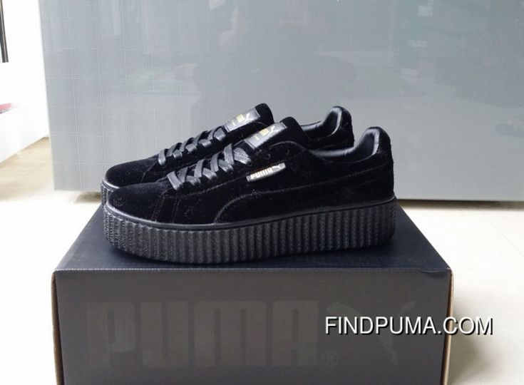 https://www.findpuma.com/puma-by-rihanna-suede-creepers-black-new-release-cheap-to-buy.html PUMA BY RIHANNA SUEDE CREEPERS BLACK NEW RELEASE CHEAP TO BUY : $113.90