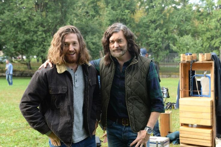 Timothy Omundson and Lucas Neff in Downward Dog (2017)