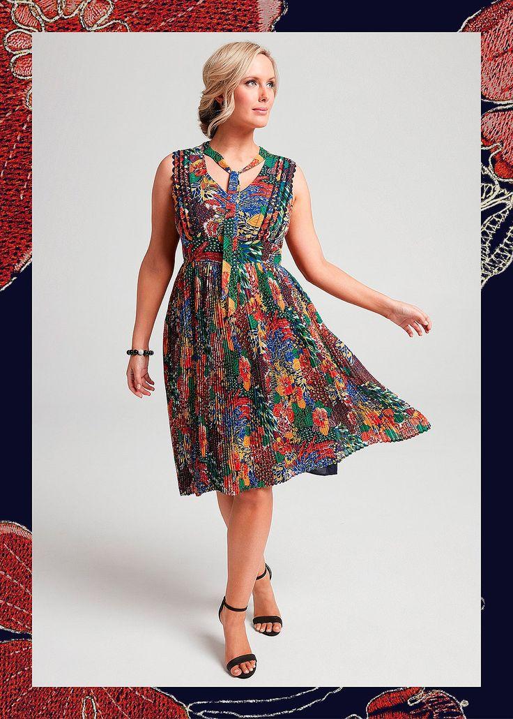 Roman Holiday Tea Dress #takingshape #plussize #curvy #eventwear #event #specialevent