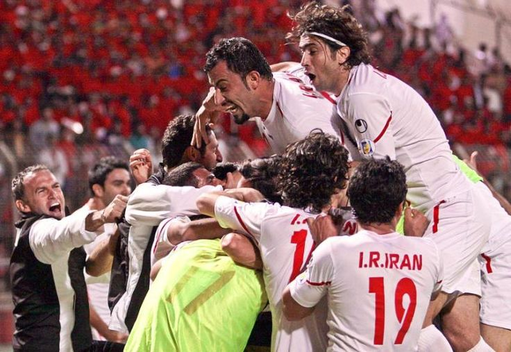 Iran players iran football team usa soccer