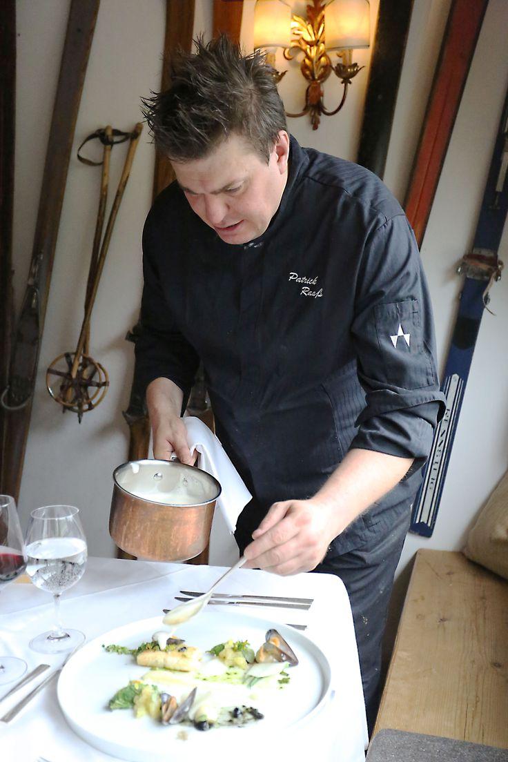 Küchenchef Patrick Raaß im Einsatz
