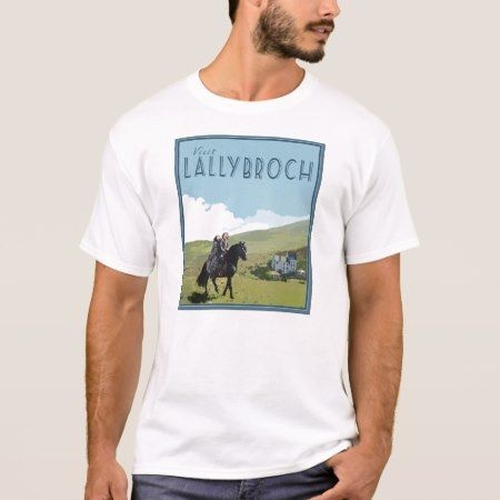 Lallybroch Vintage Travel Poster - Outlander T-Shirt - tap to personalize and get yours