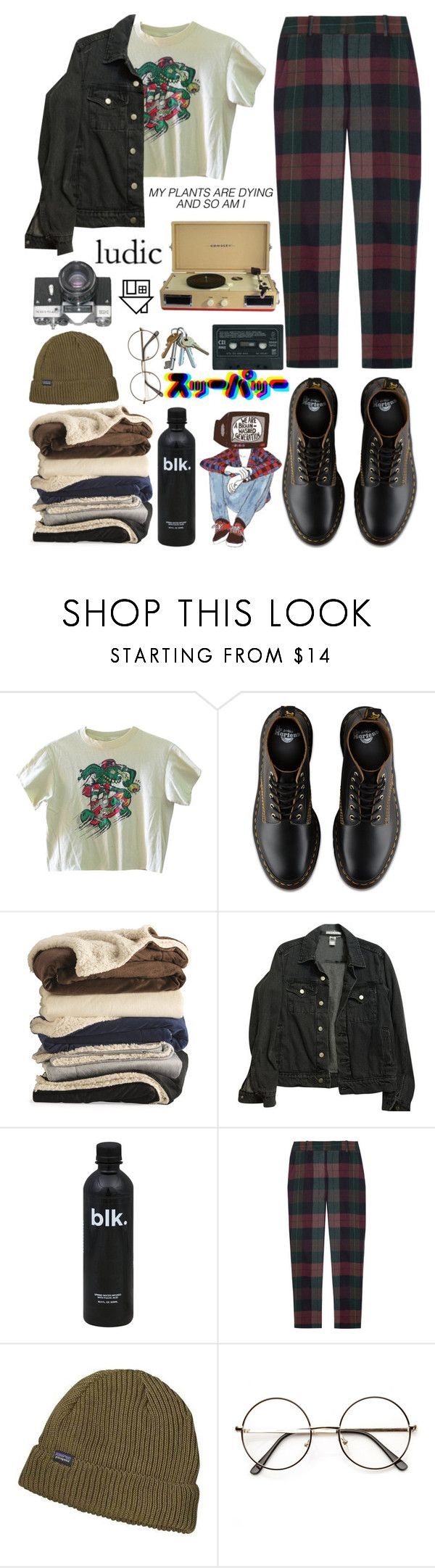 """merry christmas i guess"" by baby-boba-tea ❤ liked on Polyvore featuring American Apparel, Theory, Patagonia, Crosley and Columbia"