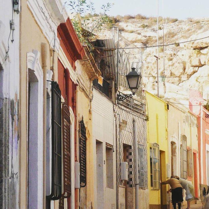 Casas coloridas #colorfulhouses #streetlife #almeria #andalucia #spain
