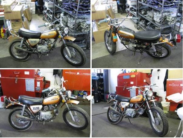 My 1974 Honda XL-70