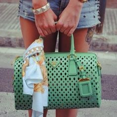 32 best green bags images on Pinterest | Bags, Shoes and Designer ...