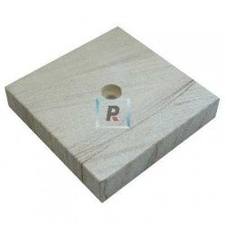 Base piedra arenisca de 150x150x30mm