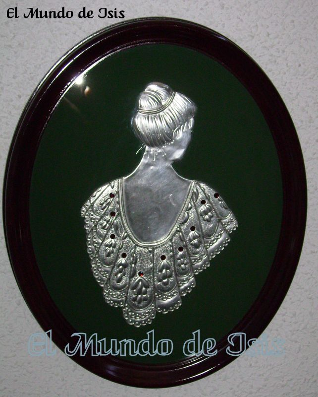 Mujer mantón