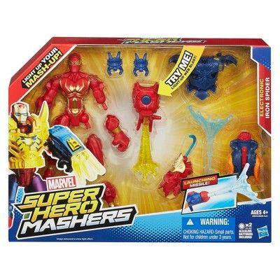 Marvel Mashers Spider-Man Action Figure