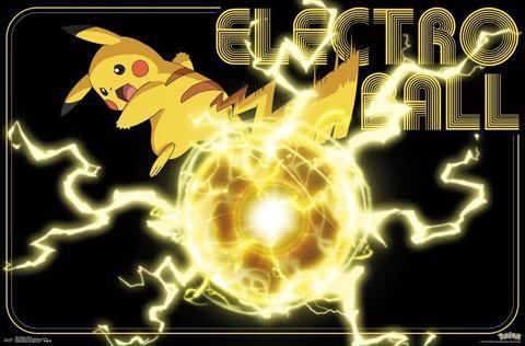 Pokemon - Pikachu Wall Poster 22x34 RP14861 UPC882663048618