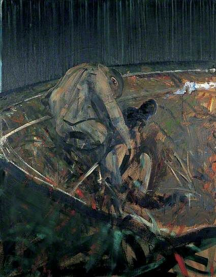 Francis Bacon | Figures in a Landscape1956