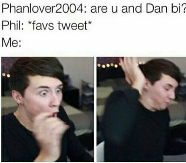 I know for a fact dan is bi, he had it on his MySpace or something bio way back when. But maaaannn this  has me REJOICING  WAIT DID THEY JUST LOWKEY COME OUT