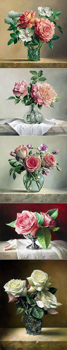 «Я предпочитаю розы из-за их аристократической ауры...» | Pieter Wagemans