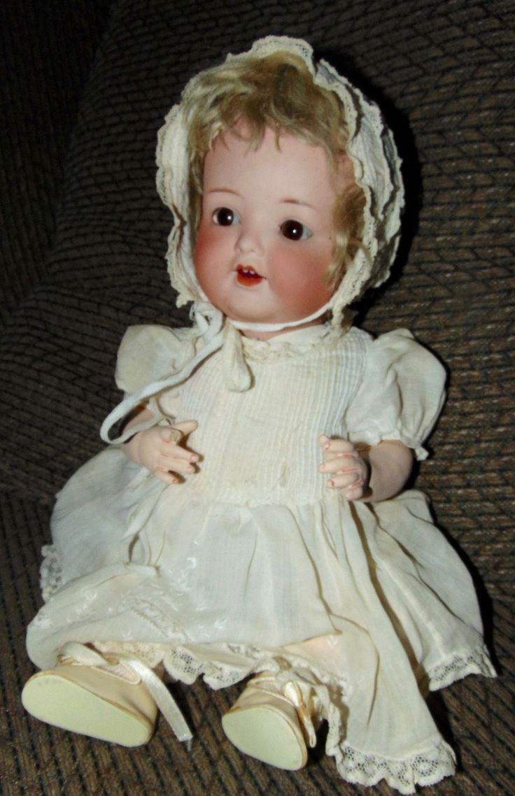 BIG BABY! Antique Bisque Doll HEUBACH KOPPELSDORF Armand Marseille 1330 in Куклы и мягкие игрушки, Куклы, Антикварные (до 1930 г.), Бисквитный фарфор, Немецкие   eBay