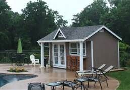 Pool House Shed - Home Office