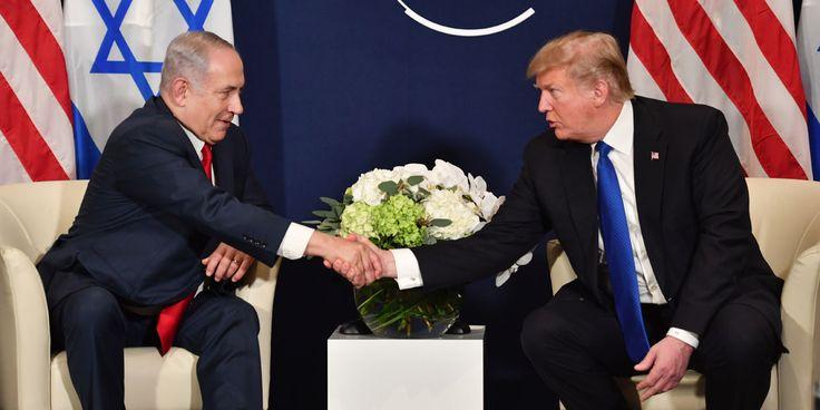 trump-n-exclut-pas-d-assister-a-l-inauguration-de-l-ambassade-a-jerusalem LE DROIT DES PALESTINIENS EST BAFOUER et le deux compères sont satisfait CE SONT LES PLUS GRANDE DÉMOCRATIE DE MERDE DU MONDE
