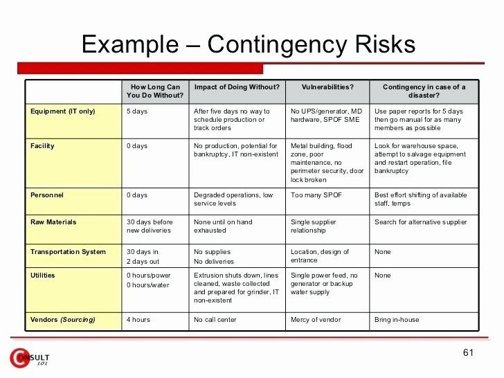 Business Risk Assessment Template Unique Business Risk Analysis