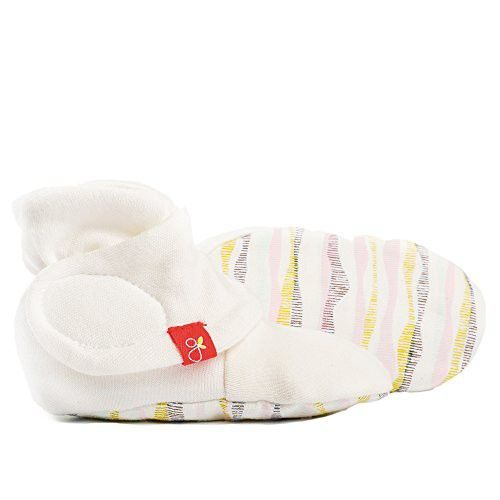 Goumikids goumiboots Soft Stay On Booties Keeps Feet Warm and Adjusts to Fit as Baby Grows