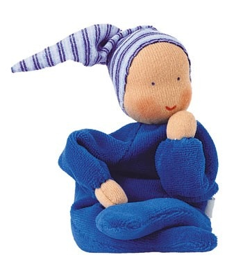 Jo has a pink one Kathe Kruse Nicki Baby Dolls - Blueberry Forest Toys ( Josephine has this in pink)