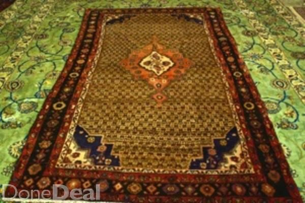 medium hand knotted persian carpet