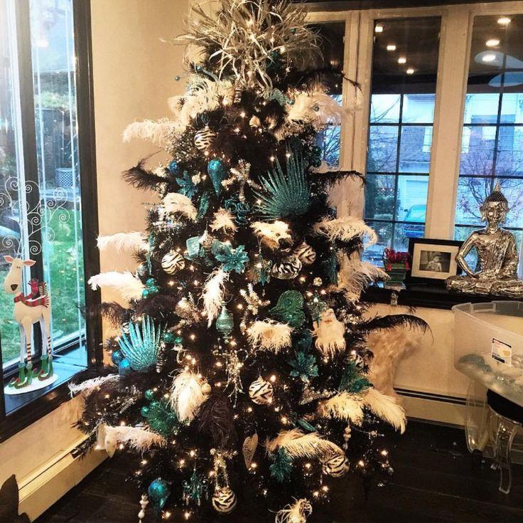 """Angela """"Big Ang"""" Raiola's 2014 Christmas Tree."""