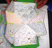 Sheena Cameron - Photo Gallery Reading Comprehension - pentagon popout